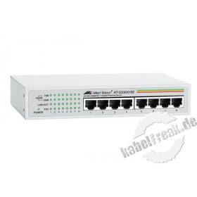 Allied Telesis Gigabit Switch AT-GS900/8E, 8 Port, Desktop Switch zum Anschluss von bis zu 8 PCs an ein Gigabit Ethernet Netzwerk