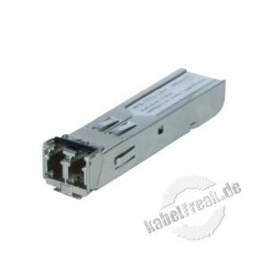 Planet Mini Gbic SFP-Modul MFG-TFX, SFP-Port 100Base-FX Multimode (1310 nm) bis 2 km Zum Erweitern eines Switches oder Medienkonverters mit SFP Slot
