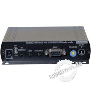 KVM Extender Over IP, Sender, bis zu 150 m, HDMI / USB
