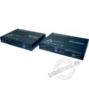 AAVARA HDMI over IP Receiver erfüllt selbst höchste Anforderungen wie AV-Matrix mit 7.1 Audio und 3D
