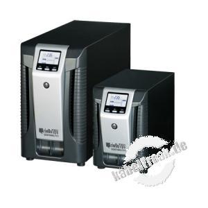 Riello SEP 3000-5 Sentinel Pro Tower-Serie USV, 3000 VA / 2400 Watt, LCD-Anzeige, Online USV Stromversorgung mit  ONLINE Doppelumwandlungstechnologie ohne Umschaltzeit, für kleine bis mittlere Computernetze, Local Area Networks (LAN), Workstations, Server