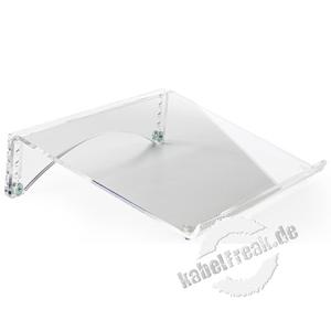 BakkerElkhuizen Dokumentenständer FlexDoc Cristal Clear, transparentes Acryl Mit dem kompakten Dokumentenhalter FlexDoc Cristal Clear sparen Sie Platz auf dem Schreibtisch