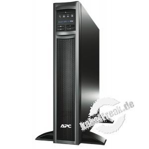 APC USV Smart UPS X LCD SMX1500RMI2U, 1500 VA / 1200 Watt, Desktop und 19' Energie sparende Stromversorgung mit Line-Interactive-Technologie und Erweiterungsmöglichkeit für Server und Netzwerke im Tower- und 19' Bereich