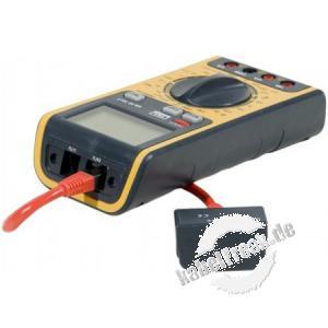 Digitaler Multimeter 3in1 mit integriertem RJ45/RJ11 Tester Multimeter für die meisten gängigen Messaufgaben mit integriertem Kabeltester