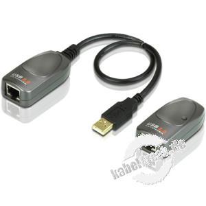 ATEN UCE 260 USB 2.0 Extender überträgt Signale aus dem USB Port bis zu 60m. weit