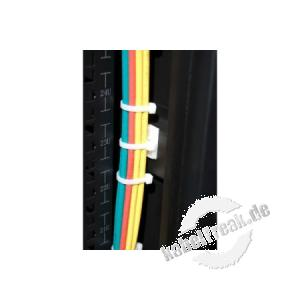 Kabelbinder-Montage-Clip, selbstklebend, 100er Pack 29 x 29 mm