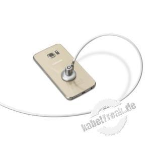 SecurityXtra SecurePad Mini, Klebesicherung für iPhone Diese universelle Retrofit-Lösung, eine kleinere Version von SecurePad, sichert kleinere Geräte wie Smartphones und ermöglicht gleichzeitig die Anzeige und Handhabung