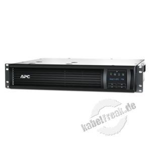 APC USV Smart UPS SMT750RMI2UC, 750 VA / 500 Watt, 19' Moderne Line-Interaktive USV für Server und Netzwerksysteme