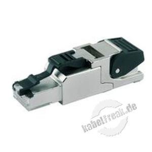 Telegärtner feldkonfektionierbarer RJ45-Steckverbinder MFP8 T568 B Cat.6A