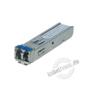 Planet Mini Gbic SFP-Modul MGB-TLX, 1000Base-LX, Singlemode (1310 nm) bis 10 km Zum Erweitern eines Switches oder Medienkonverters mit SFP Slot