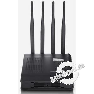 Netis AC1200 Wireless Dual Band Gigabit Router WF2780, 1200 Mbit/s (2,4 und 5 GHz), mit Access Point und Gigabit Switch Hochleistungs-Router für bandbreitenintensive Verbindungen wie Online Gaming, Video Streaming und VOIP durch gleichzeitige Nutzung von