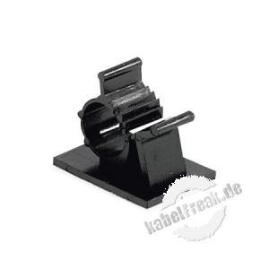 Kabelhalter, Kabel-Montage-Clip, selbstklebend, 100er Pack 11,9 mm bis 14,3 mm