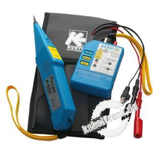 Kurth LWL- und Kupfer-Leitungssucher Kit KE801 Der Klassiker für die Suche von Kabeln und Adernpaaren bei allen Arten von Kabeln wie Telefon- und Datenkabel, Klingelleitungen, Starkstromkabel uvm