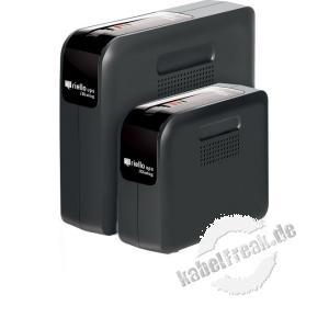Riello IDG 400 iDialog Desktop USV, 400 VA / 240 Watt Stromversorgung mit Line-Interactive-Technologie für kleine Büros und Privatanwendungen