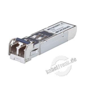 Microsens MS100200D, SFP-Transceiver Gigabit Ethernet  Gigabit Ethernet SFP-Transceiver mit Digital Diagnostic-Funktion für Multimode-Anwendungen