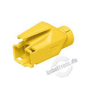 Hirose Knickschutztülle für Modularstecker TM21 und TM31, gelb Verhindert Beschädigungen am Stecker