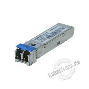 Planet Mini Gbic SFP-Modul MGB-SX2, 1000Base-SX, Multimode (1310 nm) bis 2 km Zum Erweitern eines Switches oder Medienkonverters mit SFP Slot