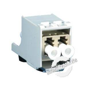 MetzConnect OpDAT modul LC Blindmodul zum Verschließen nicht bestückter Öffnungen im Modulträger, Datendose oder IP44 Aufputzgehäuse