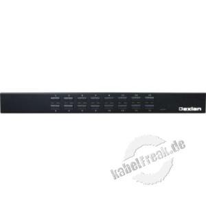 Dexlan KVM Switch 16 Port  DX-KVU5-16 Bis zu 16 Server können lokal verwaltet werden