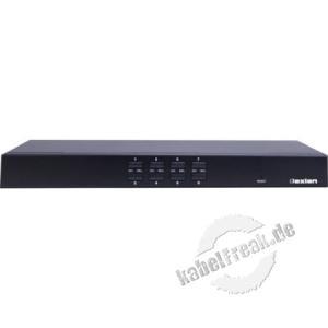 Dexlan KVM Switch 8 Port  DX-KVU5-8  Bis zu 8 Server können lokal (optional per Fernzugriff) verwaltet werden