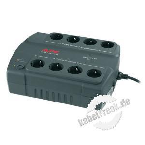 APC USV Back UPS ES, 400 VA / 240 Watt Unterbrechungsfreie Stromversorgung und Überspannungsschutz für kleine Büros