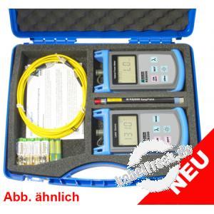Kurth optisches Mess-Kofferset KE8081 Für die komplette, leichte und schnelle Dämpfungsmessung