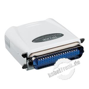 TP-Link Printserver TL-PS110P, 100 Mbit/s, 1x parallel Zum Anschluss von einem Drucker mit Parallelanschluss an ein Netzwerk