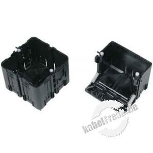 Hager Geräteeinbaudose für Brüstungskanal tehalit.BRN halboffen, GLS5510