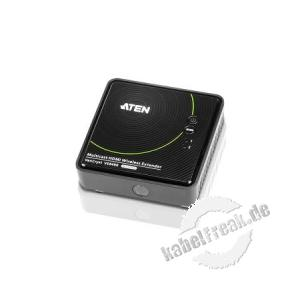 ATEN VE849R Kabellose HDMI-Verlängerung, HDMI-WLAN-Empfänger Kabellose Übertragung von Full HD-Videos (1080p) bis 30 m