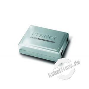 Planet POE-151, PoE-Injektor (Mid Span) Zur Spannungsversorgung von PoE Endgeräten wenn kein PoE Switch zur Verfügung steht
