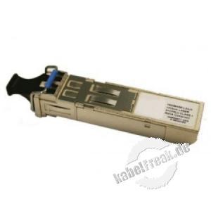 Mini GBIC (SFP) Modul LC, 1 Gigabit/s, LWL, 1000Base-LX (monomode), HP Kompatibel Gigabit-Uplinkmodul zur Erweiterung eines Switchs um einen LWL Anschluss