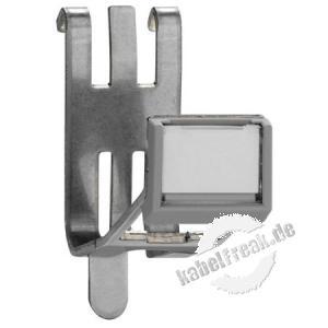 Rutenbeck REG-Montageadapter für Keystone-Module KMK, 1-fach REG-Montageadapter, ohne Modul