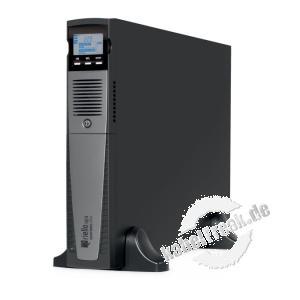Riello SDH 1000-7 Sentinel Dual - Rack-/Tower-Serie USV, 1000 VA / 900 Watt, Stromversorgung mit ONLINE Doppelumwandlungstechnologie ohne Umschaltzeit, für Server, Local Area Networks (LAN), Rechenzentren, Telekommunikation, Industrieanlagen, elektromediz