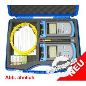 Kurth optisches Mess-Kofferset KE8001 Für die komplette, leichte und schnelle Dämpfungsmessung