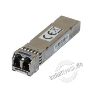 Dexlan Minigbic SFP+ 10 Gigabit 10GbaseLR Singlemode 10km Zwei-Wege-LWL-Erweiterungsmodul für 10-Gigabit-Ethernet-Netzwerk-Switch mit SFP +-Ports