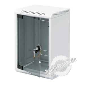 Triton 10' Wandgehäuse RBA-10, 1-teilig, 4 HE, 310 x 260 mm, hellgrau RAL 7035 Gehäuse zur Realisierung von kleineren Anwendungen wie Hausnetze, Home Office oder Netzwerke kleiner Firmen