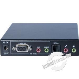 Dexlan Extender VGA, USB, Audio, RS232, 300m Steuern Sie einen PC der 300m von ihrem Arbeitsplatz entfernt ist