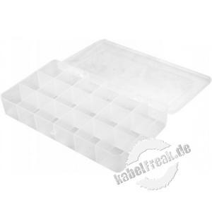 Sortimentsbox für Kleinteile mit 18 Fächern, 200 x 125 x 35 mm
