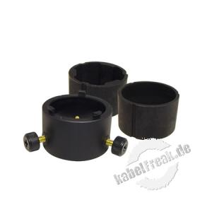 AVer Mikroskop-Adapterset für Dokumentenkameras der Serien F15, F30, F50, F55, W30, M70, PL50 Zum Anschluss der Kamera an ein Mikroskop