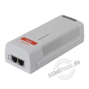 Dexlan Gigabit Ethernet PoE-Injektor, 15,4 W Breitband PoE Versorgung