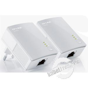 TP-Link TL-PA4010KIT AV600-Nano-Powerline-Adapter Kit Hochgeschwindigkeits-Datenübertragung über das Stromnetz