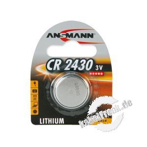Ansmann Knopfzelle, CR 2430 (3V), VE: 1