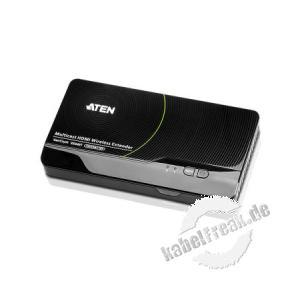 ATEN VE849T Kabellose HDMI-Verlängerung, HDMI-WLAN-Sender Kabellose Übertragung von Full HD-Videos (1080p) bis 30 m an bis zu vier Empfänger