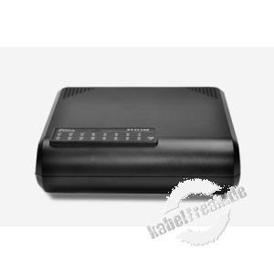 Netis Fast Ethernet Switch ST3116P, 16 Port, Desktop oder Wandmontage Energiesparender Switch zum Anschluss von bis zu 16 PCs an ein Fast Ethernet Netzwerk