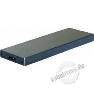 Externes Gehäuse 2,5' USB 3.0 mit SSD M2 Anschluss Gehäuse mit USB 3.0 Anschluss zum Einbau von 2,5 ' SSD M2 Festplatten