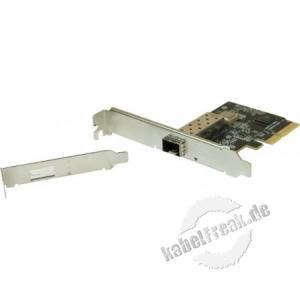 Netzwerkkarte für Sever, 10 Gigabit SFP+, PCI Express, Standard und Low Profile Zum Anschluss eines Servers an ein Gigabit Ethernet Netzwerk