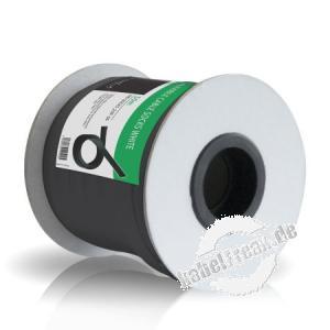 PureMounts - Kabelschlauch Polyester, 50,0 m Rolle, schwarz, dehnbar 20 mm Universeller Kabelschlauch aus Polyester für saubere Kabelführung