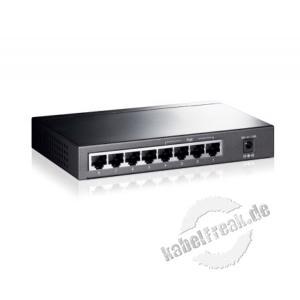 TP-Link 8 Port Gigabit Desktop Switch mit 4 PoE Ports Switch zum Anschluss von bis zu 8 PCs an ein Gigabit Ethernet Netzwerk