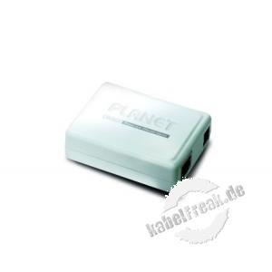 Planet POE-152, PoE-Injektor (End-Span) zur Spannungsversorgung von PoE Endgeräten wenn kein PoE Switch zur Verfügung steht