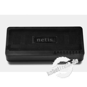 Netis Fast Ethernet Switch ST3108S, 8 Port, Desktop oder Wandmontage Energiesparender Switch zum Anschluss von bis zu 8 PCs an ein Fast Ethernet Netzwerk